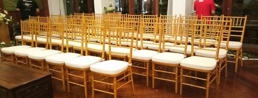 sewa kursi tiffany gold